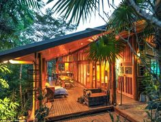 Treehouse masters interiors | ... ... and a fireman's pole: The ultimate treehouse goes up for sale