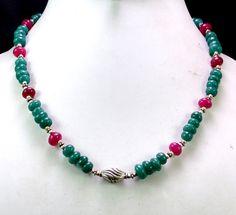 (SKU NO:193ct) Natural Semi Precious Designer Beads Necklace Faceted.