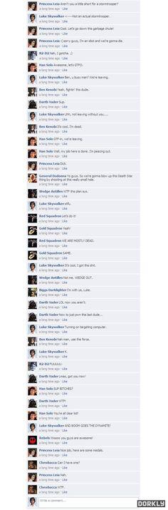 Star Wars Facebook part 2