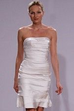 This wonderful Wedding Dresses  Fashionable Tiered Innovation In This Summer White Little Wedding Dress  This beatiful cheap wedding dresses use the Taffeta material, the front Strapless neckline compose this elegant and charming dress. Short outline match with your unique and sexy appeal.Dressaler.com offer you the best Little White Wedding Dresses There must be one for you. - $120.59