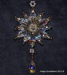 Crystal Snowflake - fabulous shimmer...