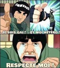 Gai et Hétéro. Kakashi na aucun respect !pour ceux qui comprennent pas son no Naruto Minato, Kakashi Sensei, Gaara, Naruto Shippuden, Boruto, Sasuke, Dbz Memes, Funny Naruto Memes, Funny Memes