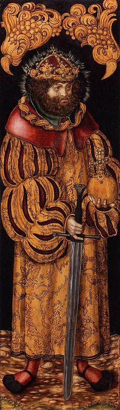 Lucas Cranach the Elder; St Stephen of Hungary, c. 1510