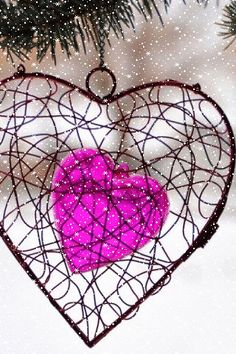 Hearts Gifs Heart Snow Nature