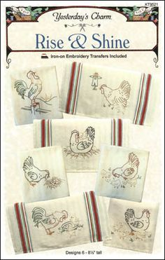 Free Easy Redwork Pattern | ... shine with these charming redwork patterns seven different designs