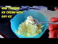 """How to make """"Dry Ice"""" Ice Cream"""
