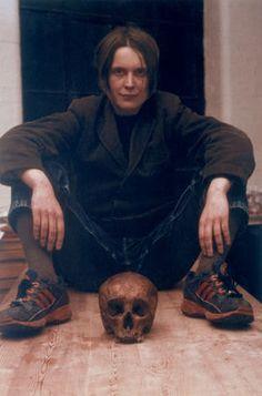 Sarah Lucas  Self Portrait With Skull (1999)