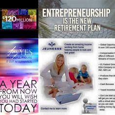 Entrepreneurship is the new retirement plan