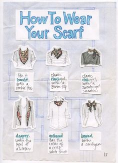 20 Style Tips On How To Wear and Tie A Scarf For Any Season | http://Gurl.com