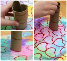 12 techniques de peinture à essayer avec les enfants - Brico enfant - Trucs et Bricolages