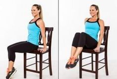 Flat Belly - Chair exercises are one example, and they help reduce belly fat in less time than you think. Check out these 5 simple chair exercises and see results in no Flat Abs, Flat Stomach, Flat Belly, Lose Belly, Fitness Tips, Fitness Motivation, Health Fitness, Fitness Men, Fitness Journal