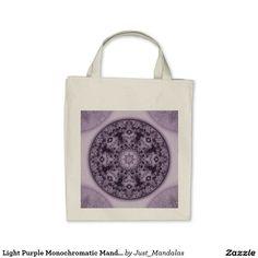 Light Purple Monochromatic Mandala