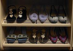 Shoe Fencing - Inspiration California Closets DFW
