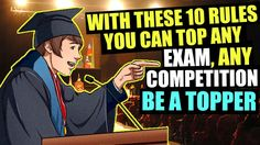 10 Guaranteed Steps that will Make You a Topper Study Motivation, How To Become, How To Make, To Focus, Competition, Make It Yourself, Studying, Tips, Youtube