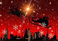 St Nick on Christmas Eve iPad Folio Case Christmas Light Displays, Christmas Lights, Free Christmas Wallpaper Backgrounds, Santa Christmas, Christmas Cards, 2 Advent, Santa Gifts, Reno, Light Painting
