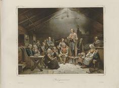 Adolph Tidemand - Haugianerne. jpg (1280×946) Mandala, Painting, Art, Art Background, Painting Art, Kunst, Paintings, Performing Arts, Painted Canvas