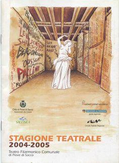 Watercolor Illustration for theater season of Teatro filarmonico in Piove di sacco (Padova) #stefanotamiazzo #tamiazzo #illustration #teatrofilarmonico #watercolor