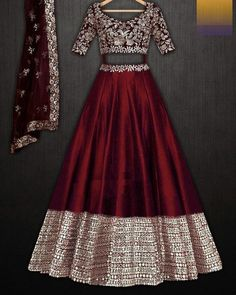 Party Wear Indian Dresses, Indian Gowns Dresses, Indian Bridal Outfits, Party Wear Lehenga, Indian Fashion Dresses, Dress Indian Style, Indian Designer Outfits, Gown Party Wear, Indian Wedding Gowns