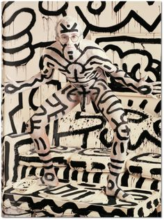 Annie Leibovitz. Cover Edition: Keith Haring, New York City, 1986