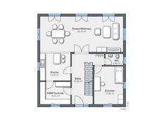 Weberhaus CityLife 600 Grundriss EG