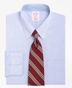 Non-Iron Madison Fit Button-Down Collar Dress Shirt