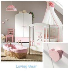 Cool  Kinderzimmer f r M dchen in Pink