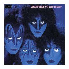 """L'album dei #Kiss intitolato """"Creatures Of The Night""""."""