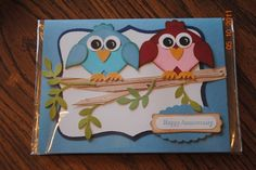 Stampin' Up!  Ornament Punch  Bonnie Stanley  Birds