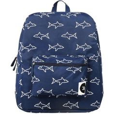 Forever 21 The WhitePepper Shark Canvas Backpack