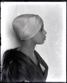 """Photo of Aicha Goblet, by Man Ray, 1922  Referred to as """"The Miss Africa of Montparnasse is Aïcha"""" by French art critic Andre Salmon."""