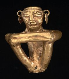 Anthropomorphous votive figure, muisca d. - 1600 d. South American Art, Ancient Artifacts, Ancient Civilizations, Prehistoric, Archaeology, Primitive, Coins, Objects, Symbols