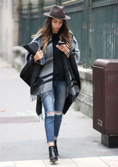 40 The Best Fall Ponco Outfit Ideas