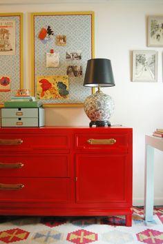 red dresser 2