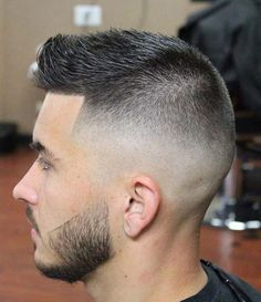 Faux Hawk Hairstyles, Cool Hairstyles For Men, Cool Haircuts, Haircuts For Men, Messy Hairstyles, Black Hairstyles, Long Hair On Top, Very Short Hair, Styles Courts