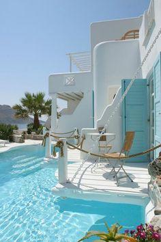 Kivotos Hotel, Mykonos, Greece.
