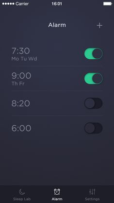 Sleep Time App by Michal Langmajer