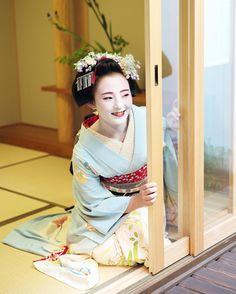 Maiko. #japan #kyoto #geisha #kimono