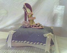 High Heel Shoe Pillow Cake