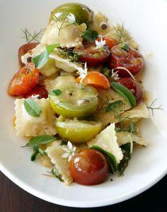 ravioli salad