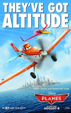 Disney's PLANES / New Character Posters