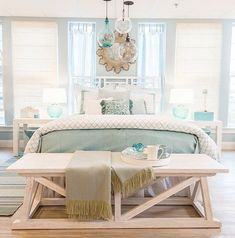 10 Gracious Tips: Natural Home Decor Living Room Color Palettes natural home decor rustic cabinets.Organic Home Decor Modern Woods natural home decor bedroom window.Natural Home Decor Bedroom Beds. Coastal Master Bedroom, Beach House Bedroom, Coastal Bedrooms, Beach House Decor, Home Decor Bedroom, Beach Inspired Bedroom, Beach Houses, Design Bedroom, Beach Bedrooms
