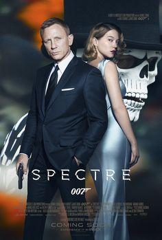 SPECTRE Bond as a dead man official posters