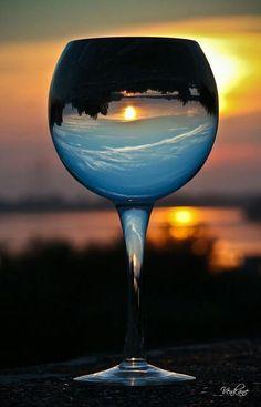 Beauty thru glass