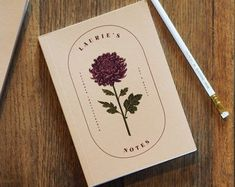 All categories   Etsy Midori Notebook, Diys, Gift For Architect, Birth Month Flowers, Flower Names, Personalized Birthday Gifts, Friend Necklaces, Vintage Ephemera, Art