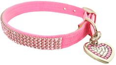 Puppy Collars, Jeweled, Crystals, Pink Pet collars, Fancy, Susan Lanci