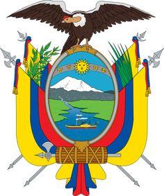 Ecuador Spanish Class, Countries Of The World, Flags Of The World, National Symbols, National Flag, Guayaquil, Coat Of Arms, Ecuador Flag, Quito Ecuador