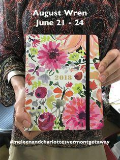August Wren, Jennifer Orkin Lewis, is a featured teacher June 21-24, 2018! A whole weekend of fun making art in beautiful southern Vermont!