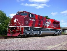RailPictures.Net Photo: UP 1988 Union Pacific EMD SD70ACe at Northlake, Illinois by Paul M. Rome