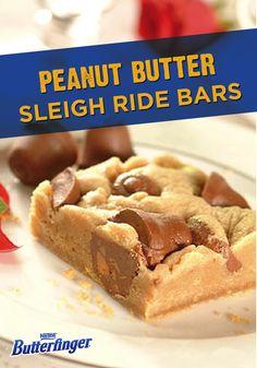 peanut butter sleigh ride bars peanut butter sleigh ride bars are ...