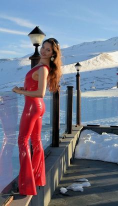 Ricci Tauscher Sexy Latex, Shell Crafts, Catsuit, Hot, Erotic, Leather Pants, Suits, How To Wear, Dresses